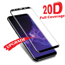 Akcoo 20D full cover tempered glass for Samsung Galaxy S8 9 7 Plus Note 8 edge screen protector A6 A8 2018 film Cover