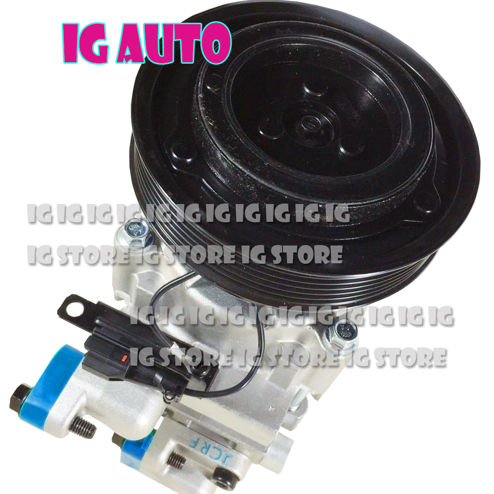Car New A C AC Compressor With Pulley For Hyundai Tucson ix35 2 0 2012 2013 977012E100 For hyundai tucson compressor in Power Steering Pumps Parts from Automobiles Motorcycles
