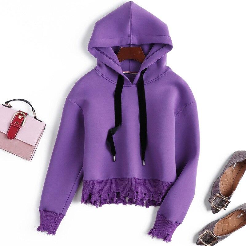 2a05e8ecf87 Capuche Gros À Hoodies shirt Des Sweat Décontractés Automne De Manches  D extérieur Mode Femmes Femme Sweat Vêtements Pulls Longues ...