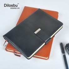 Dilosbu A5 B5 magnetic business travel notebook composition book leather cover travel  journal office planner School supplies dislobu a5 business notebook leather cover holiday gift imitation daily menos office schedule book business planner office gift