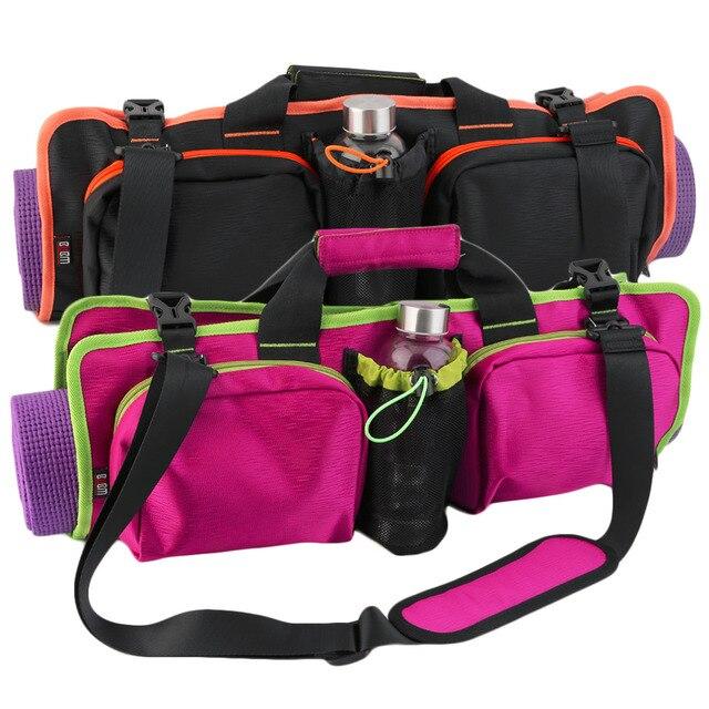 Гибкая Фитнес yoga mat Спортивная сумка Многофункциональный высококлассные складной портативный одиночный мешок плеча водонепроницаемый бесплатная доставка