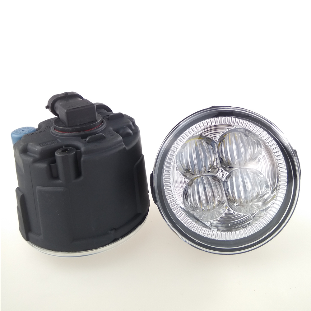 For NISSAN X-Trail T31 Closed Off-Road Vehicle 2007-2014 10W High power Lens fog lights Car styling Fog lamp 1set car styling led fog lights for mitsubishi pajero iv v8 w v9 w closed off road vehicle 2007 2012 fog lamps 10w drl 1set