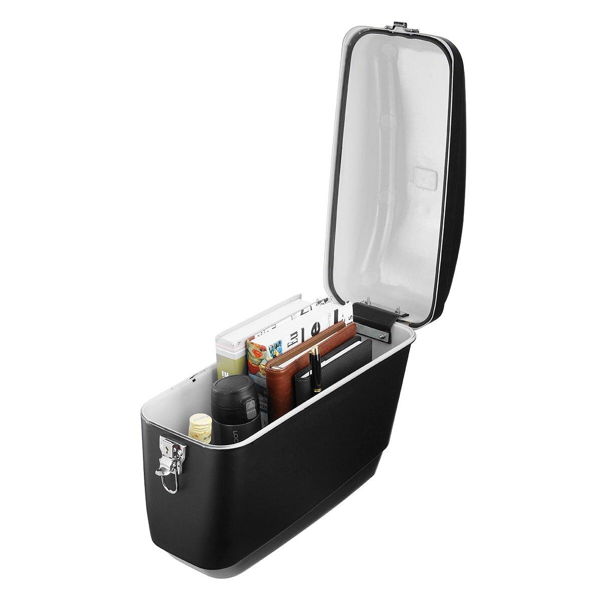 1 Pair 30L Large Motorcycle Side Boxs Luggage Tank Tail Bag Hard Case Saddle Bags For Harley Cruisers For Kawasaki/Honda