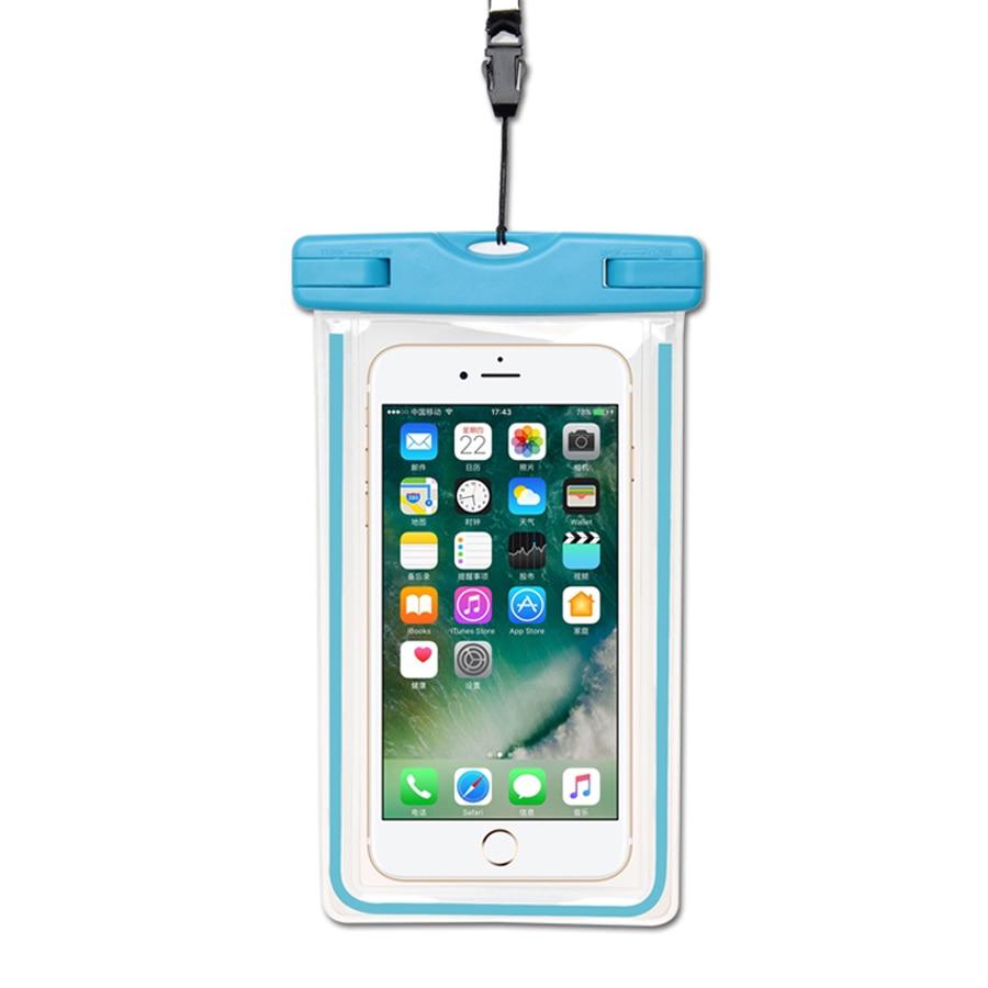 watch 75dd5 eccb6 Waterproof Case For Xiaomi mi 6 mi5 Redmi Note 5a Prime Note 4 pro Note 3  Note 2 Prime 4x Redmi 2 1S Mi4i Mi4 Mi4c Bag Dry Pouch