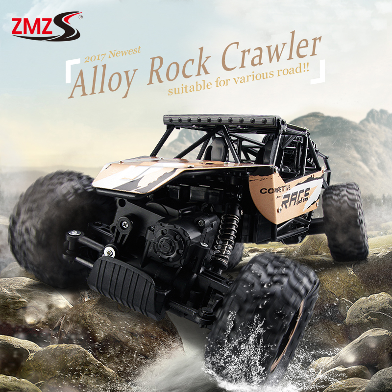 New Alloy font b RC b font Climbing font b Car b font 4WD 2 4GHz