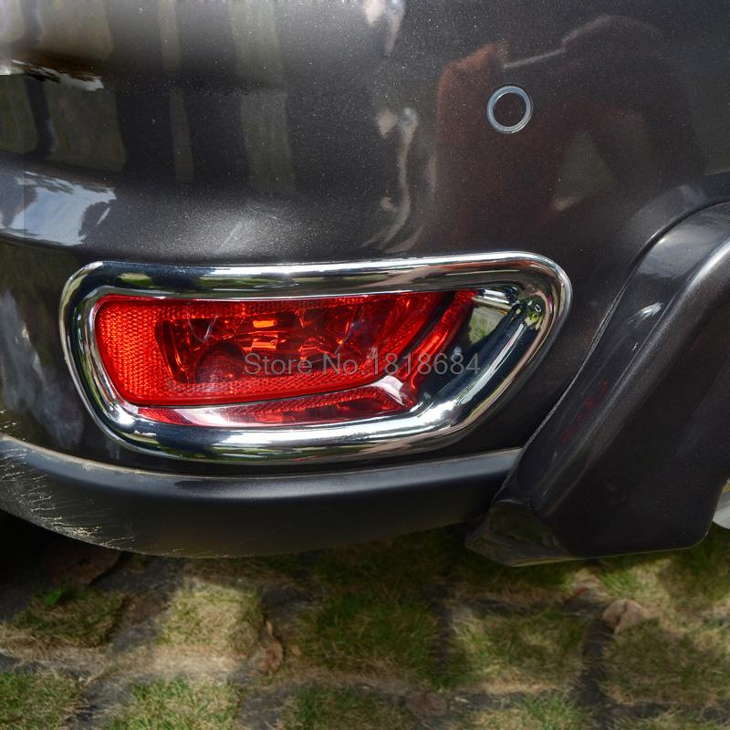 For Dodge Journey 2013 2014 High Quality ABS Chrome Tail