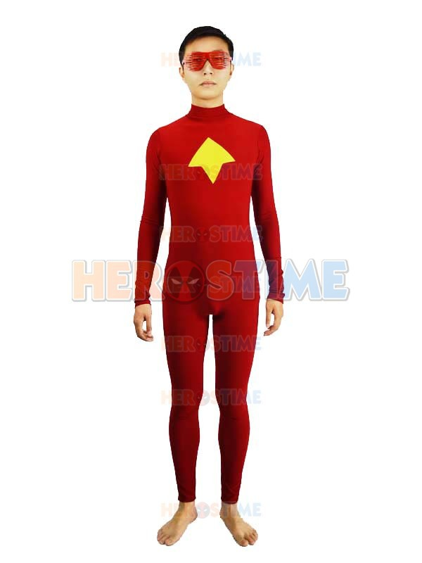 Halloween Costume Arrow Red and Yellow Spandex Speedy Mia Dearden Superhero Costume Online wholesale