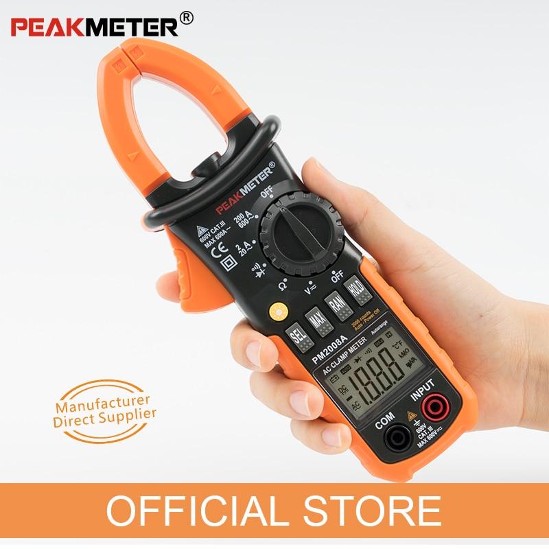 PEAKMETER PM2008A Medidores de pinza digitales Medidor de pinza de - Instrumentos de medición - foto 3