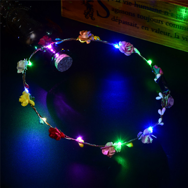 Party Glowing Crown Flower...