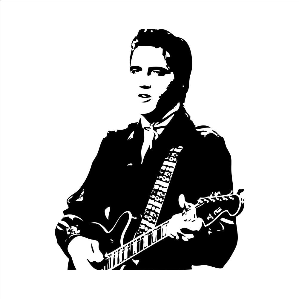 Online kopen wholesale gitaar muursticker uit china gitaar ...