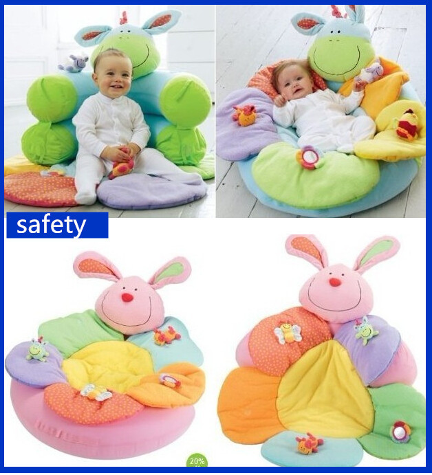 Chair Baby Elc Sofa Cosy Baby Seat Play Mat Nest Cartoon Cushion