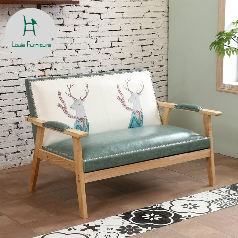 Living Room Furniture St Louis: Louis Fashion Living Room Sofas Northern Europe Modern