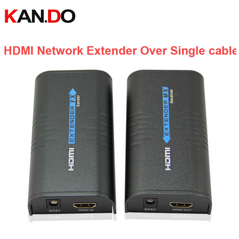 373 HDMI Network Networking Extender Over Cat5 Cable - Unlimited Extension HDMI Network Extender Audio Video Adapter