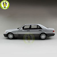 1/18 S Class S Class S600 V12 W140 Diecast Model Car TOYs for kids collection hobby Silver