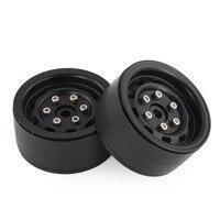 4pcs AUSTAR AX 618 1.9inch RC Tires Beadlock Metal Wheels Hub Rim Set for Axial SCX10 RC4WD D90 1/10 RC Car RC Accessories