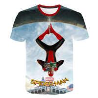 2019 garçons T-shirt enfants vêtements d'été hauts Spiderman T-shirt Enfant Costumes enfants T-shirt Koszulka garçon t-shirts pour enfants nouveau