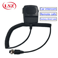 In car monitoring remote call handle driver monitoring center interphone high fidelity sound quality ambulance monitoring