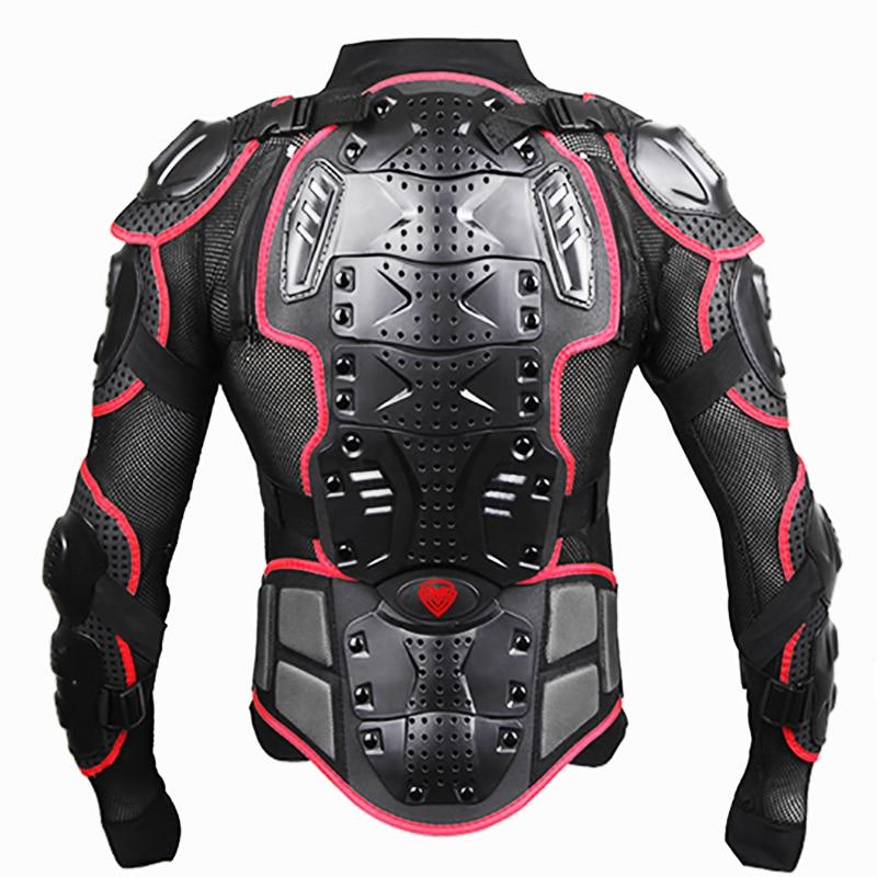 Moto épaule coudières protection vêtements vestes Moto Cross Back armure protecteur Moto racing veste complète du corps - 5