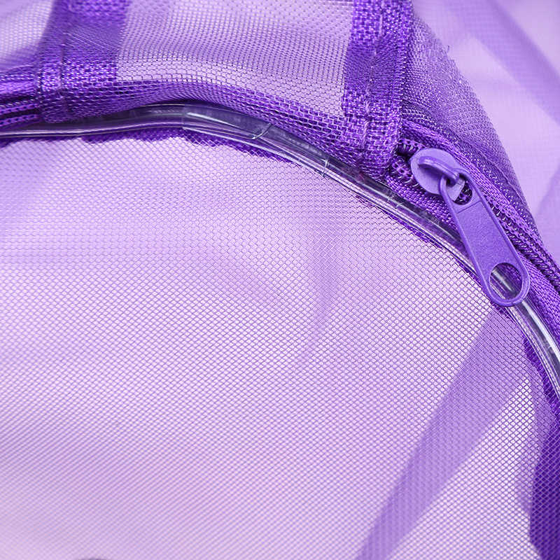 WHISM Dobrável Malha Fio de Lã Saco De Armazenamento de Malha Cesta de Tecelagem Rodada Sacos de Tote Ferramenta De Linha de Fio De Crochê Fio Pendurado Organizador