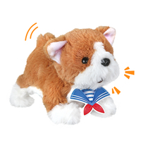 Soft Craft Doggy Dolls Simulation Plush Toys Cute Stuffed Animal Stand Walk Shake The Tail Gift For Girls Boys Kid