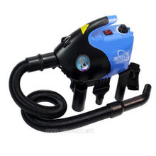 Free by DHL 1PC Hot sale Blue 2600W Infinitely variable Low noise Anion Technology Pet hair dryer Dog blower blowing machine