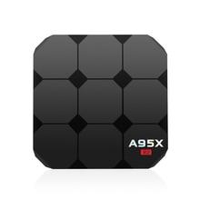A95X R2 Marque TV Box Android 7.1 TV Récepteurs Smart TV Box Quad-core Mali-450 GPU Smart WIFI Set Top Box 1 GB RAM 8 GB ROM