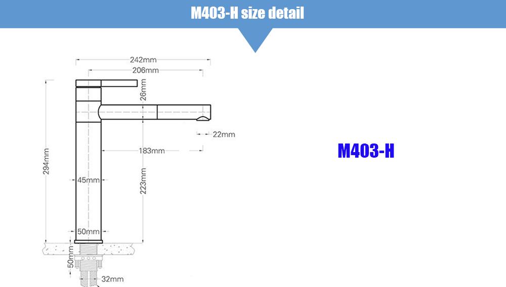 SIZE m403-h