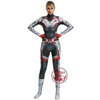 Marvel Avengers 4 Endgame Advanced Tech Quantum Realm Suit Women Girls Jumpsuit Superhero Halloween Cosplay Carnival Party