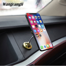 Universal Mobile Car Phone Holder Stand Cell Sucker Holder 360 Degree Adjustable for iphone 5 7 8 x s   plus Samsung Car Mount цена
