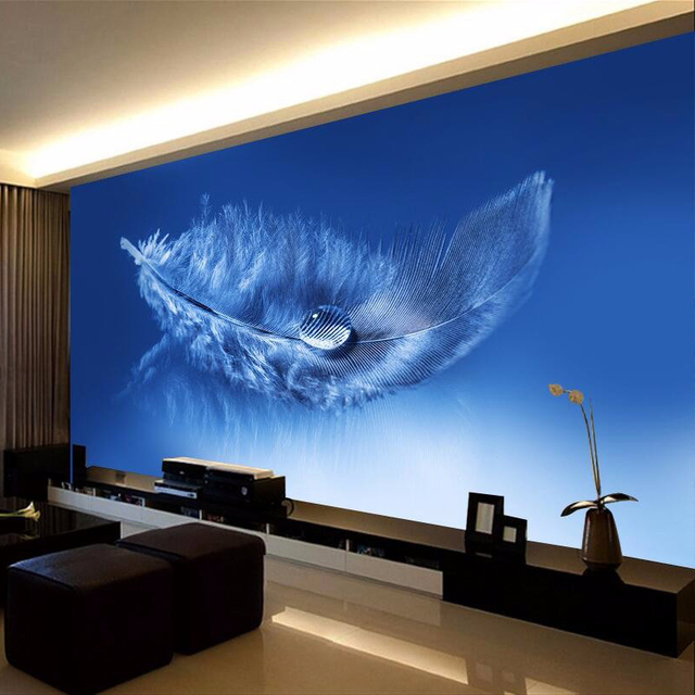 Buy custom any size 3d mural wallpaper for Custom mural wall covering