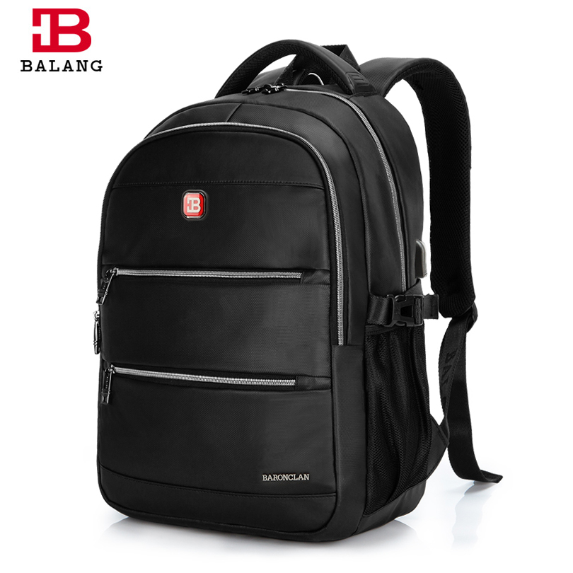 BaLang Brand 2017 Waterproof Oxford 16 inch Laptop Backpack Men School Student Bags Travel Backpack Casual Bag Women Mochila balang brand school backpack for teenagers boys girls large capacity travel backpack for men 15 6 inch laptop waterproof bags