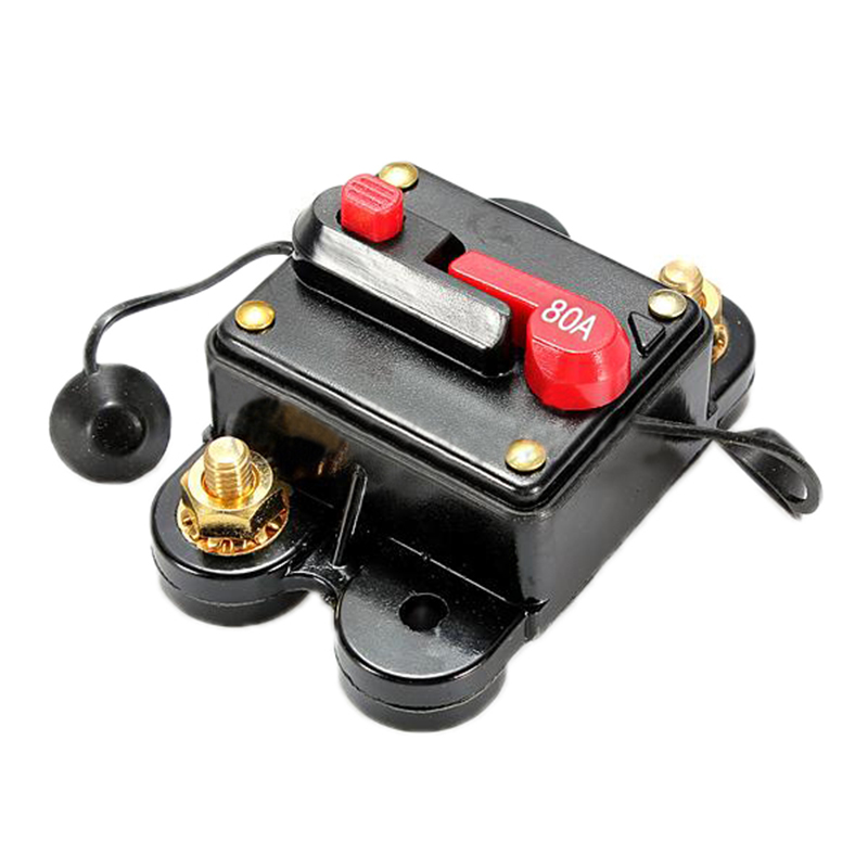 80a amp circuit breaker car marine stereo audio inline. Black Bedroom Furniture Sets. Home Design Ideas