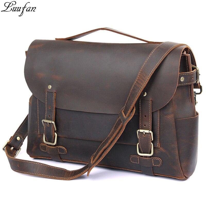 Laptop Brown Leder
