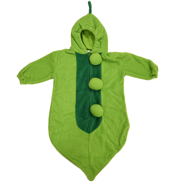Green Guisante Saco De Dormir Beb With Gorro Cremallera Sleeping Bag