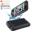 4300mAh WaterProof power case for iPhone 6 6s Plus battery case life water proof External Backup Battery Portable Charger Cover