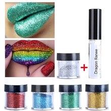 New Arrival Brand Sexy 20 Colors Glitter Lip gloss Diamond Lips Makeup Well Pigmented Powder Eye Shadow Cosmetics