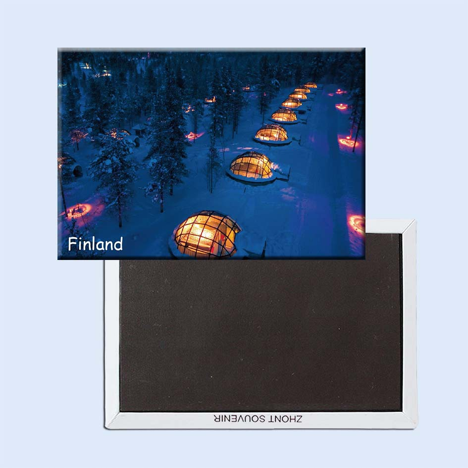 Finland Scenery Travel GIft 21089, Refrigerator magnets/Souvenirs of Worldwide Landscape Online Store