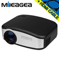New CHEERLUX C6 Mini Video Projector 1200 Lumen 800x480 LED LCD Home Theater Movie support HDMI TV VGA AV USB proyector