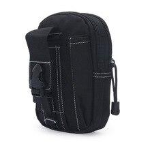 2017 Men Waist Pack Bum Bag Pouch Waterproof Military Belt Waist Packs Molle Nylon Mobile Phone Wallet Travel Tool
