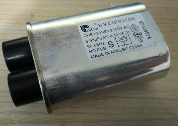 microwave oven parts capacitor 0.95um 2100VAC