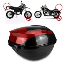 Universal Electric Bicycle Trunk Top Case With Safety Lock Buckle Large Capacity Shock-proof Motorcycle Tail Box