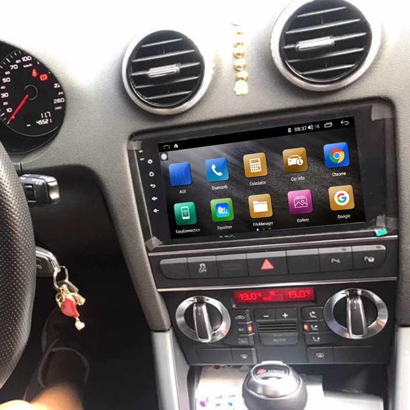 IPS 9.7 ''HD タッチスクリーンアンドロイド車 DVD マルチメディアステレオラジオビデオ GPS ナビゲーション Carplay 無線 LAN システムのためのアウディ A3 A4 A6
