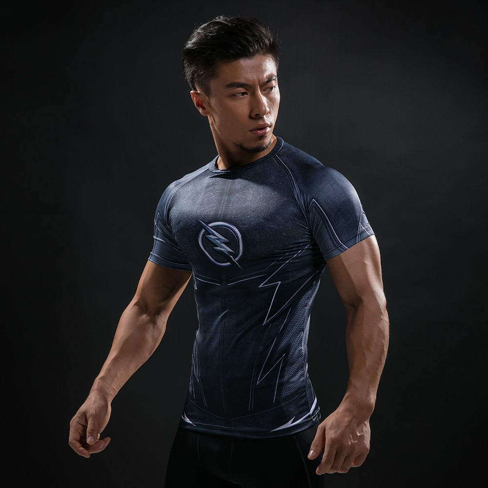 Punisher 3D Printed T-shirts Men Compression Shirts Long Sleeve Cosplay Costume crossfit fitness Clothing Tops Male Black Friday 34