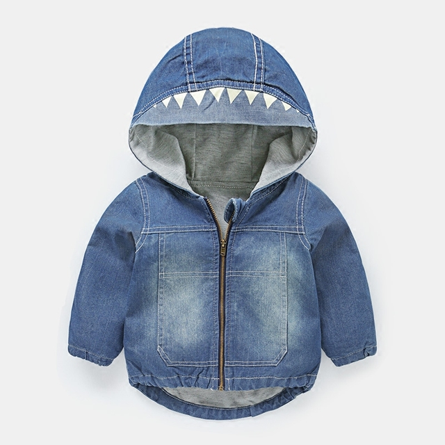 Cute Girls Denim Jacket For Girl Baby Denim Jackets Boys Jean Jacket