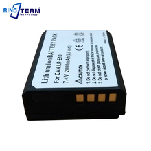 Rechargeable Digtial Battery LP-E10 LPE10 E10 for Canon EOS Rebel T3 T5 T6 1100D 1200D 1300D 1500D 3000D 4000D Kiss X50 Cameras