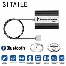 Автомобильный MP3 плеер siteiel, Bluetooth A2DP, адаптер для Toyota Lexus Scion, AUX, USB зарядка, Handsfree, Bluetooth, автомобильный Стайлинг