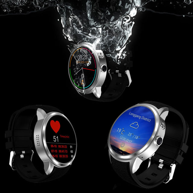 Cawono Bluetooth X200 Waterproof Smart Watch Android Relogio Smartwatch Phone 3G WCDMA GPS Wifi Google Playstore Camera PK KW88
