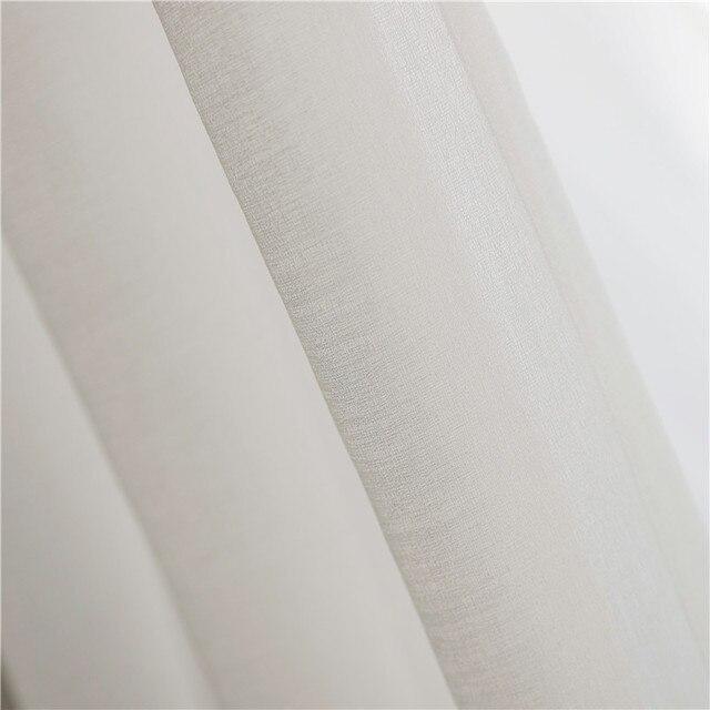 CITYINCITY Morbido Bianco Tulle Tende Per Il salone di stile Del Giappone Del Voile Sheer Tenda di Finestra per la camera da letto sala da pranzo Personalizzato