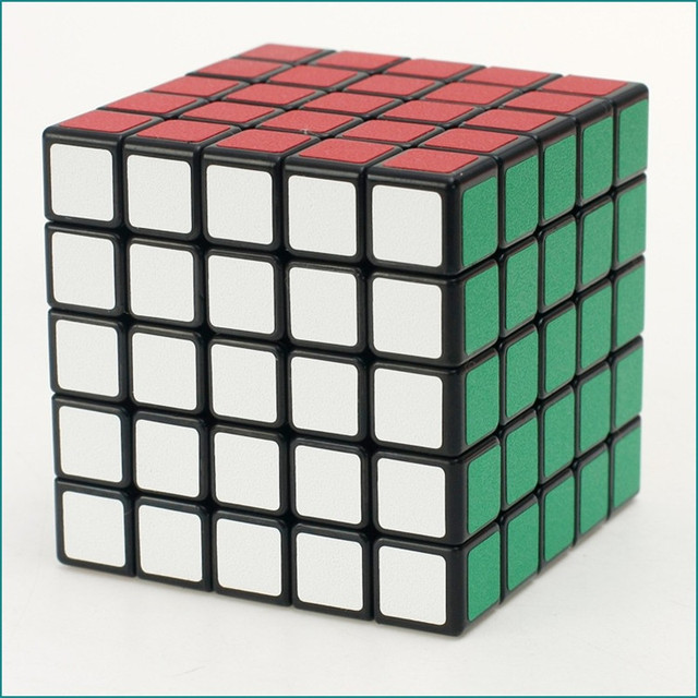 5*5*5 Magic Cube Puzzle Toy Magic  Cube Toys For Children Kids Educational Gift Toy Classic Girl Boy Younth Adult Instruction