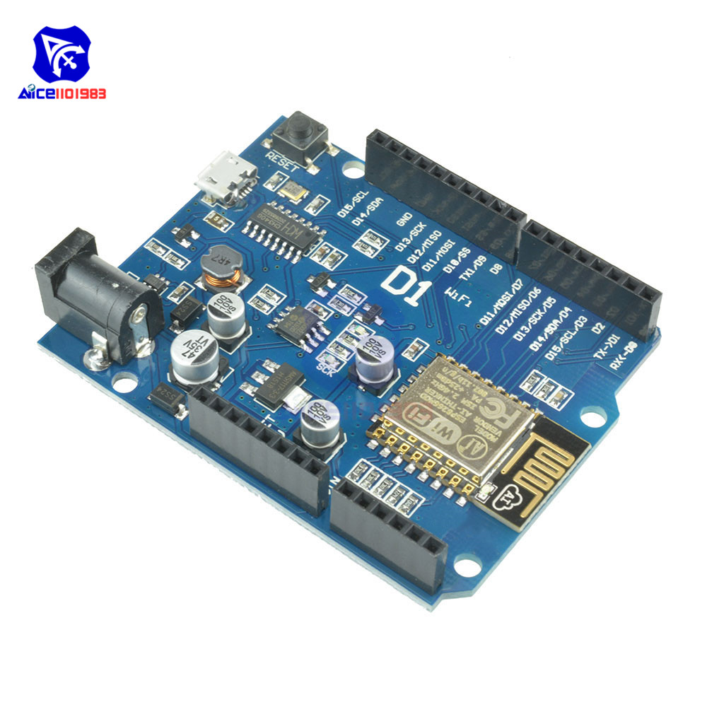Image 4 - OTA WeMos D1 CH340 CH340G WiFi Development Board ESP8266 ESP 12 ESP 12E Module For Arduino IDE UNO R3 Micro USB ONE 3.3v 5v 1A-in Integrated Circuits from Electronic Components & Supplies